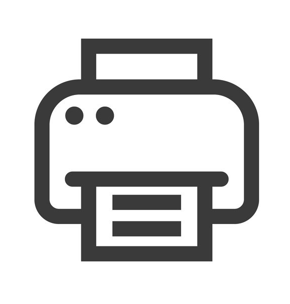 ASCII-printer